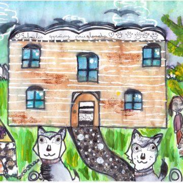 I vieta – Gabrielė R., Radviliškio Gražinos pagrindinė mokykla;