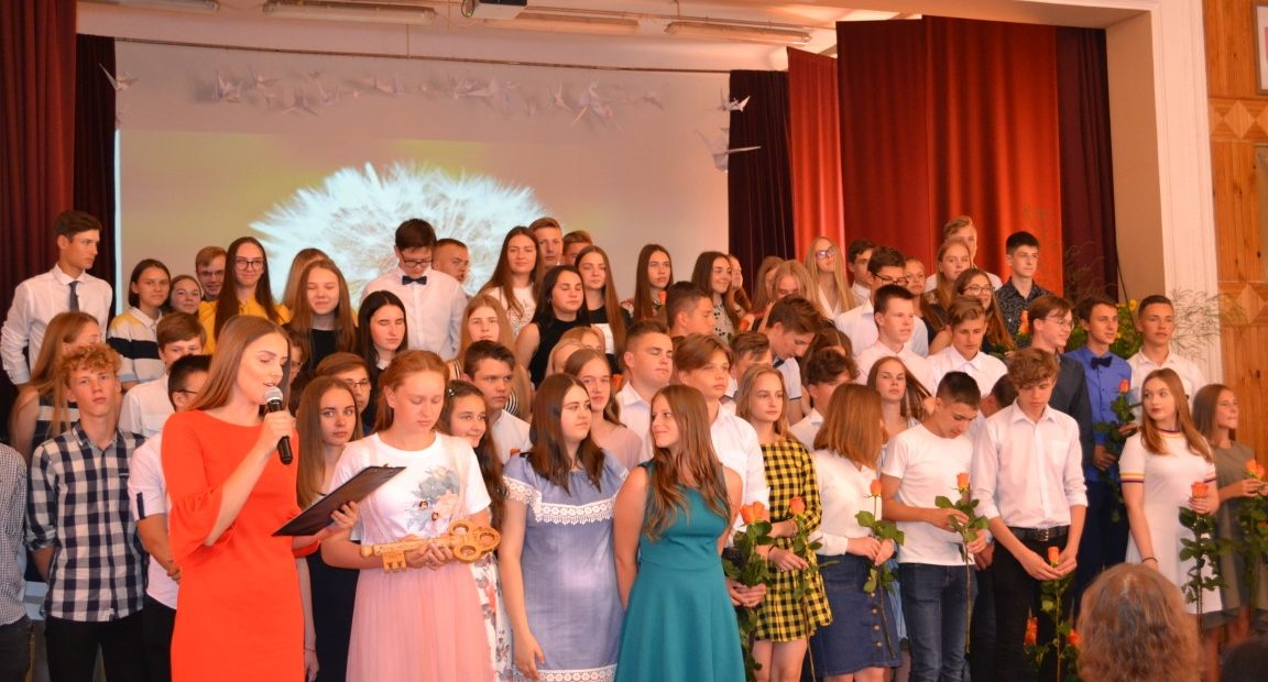 Akimirkos iš aštuntokų atsisveikinimo su mokykla šventės