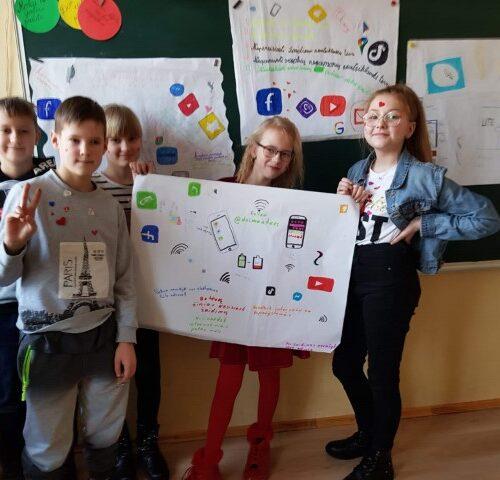 Saugesnio interneto savaitė Radviliškio Vinco Kudirkos progimnazijoje